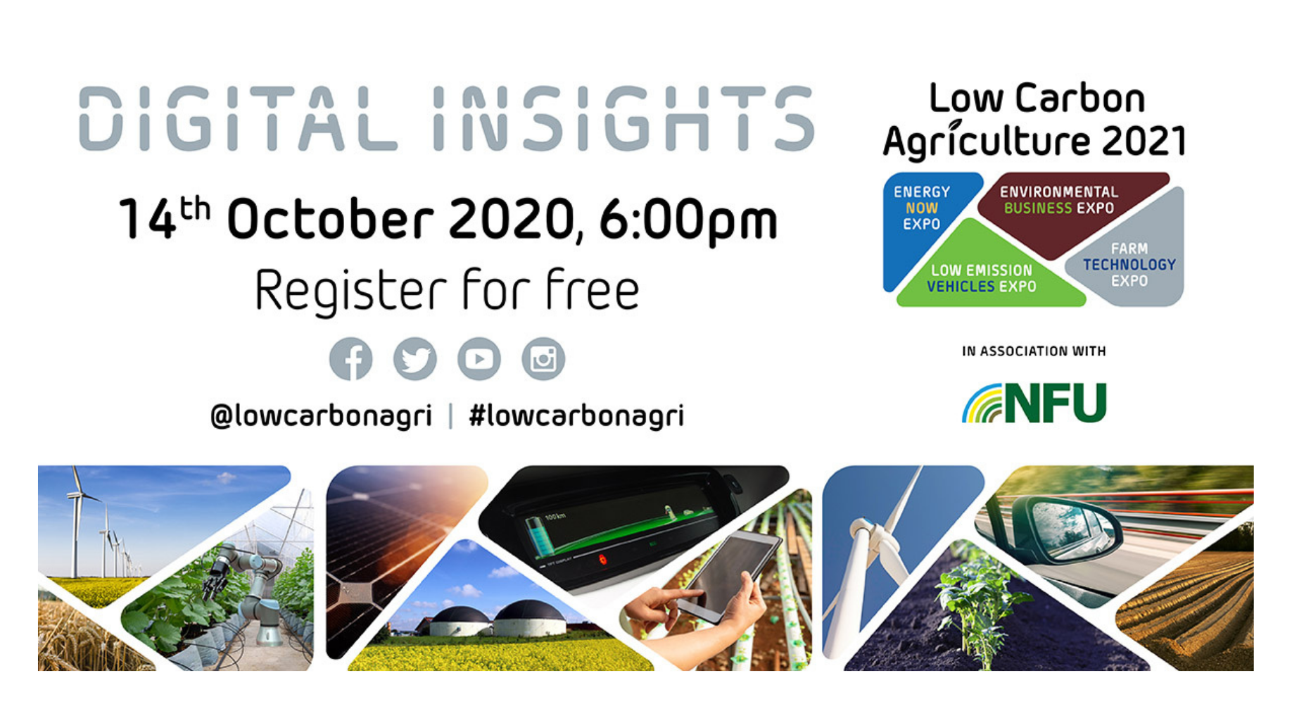 'Renewable Energy on Farms' webinar launched by Low Carbon Agriculture Show